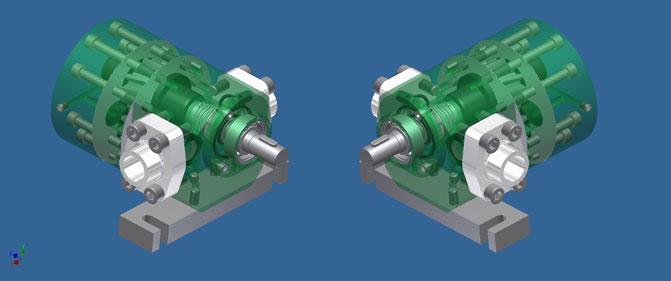 progettazione pompe industriali personalizzate